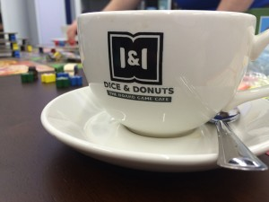 Dice and Donuts Cup